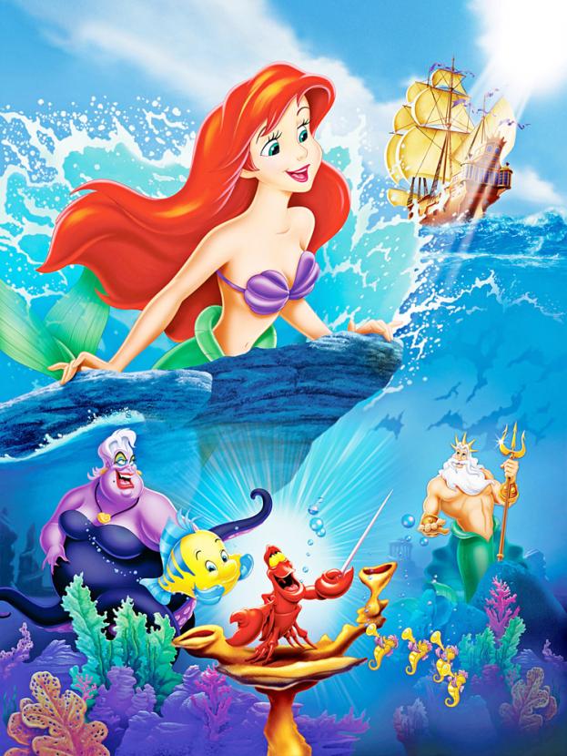 Принцессы Дисней - Little Mermaid   Русалочка