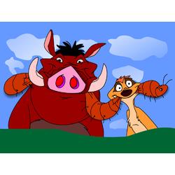 Timon and Pumbaa | Тимон и Пумба