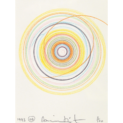 Damien Hirst - Making beautiful drawings | Дэмьен Херст