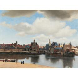 Jan Vermeer   Ян Вермеер - Вид Делфта