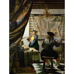 Jan Vermeer   Ян Вермеер - Аллегория Живописи