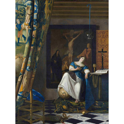 Jan Vermeer   Ян Вермеер - Аллегория веры