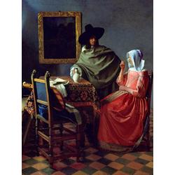 Jan Vermeer   Ян Вермеер - Бокал вина