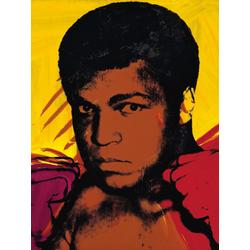 Andy Warhol | Энди Уорхол - Мухаммед Али