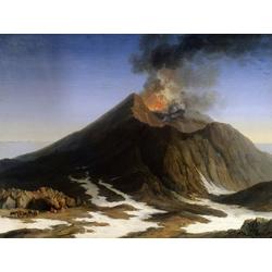 Jakob Hackert   Хаккерт Якоб - The Eruption of Etna