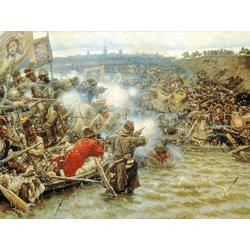 Surikov Vasily | Суриков Василий - Покорение Сибири Ермаком, 1895