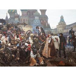 Surikov Vasily - The Morning of the Execution of the Streltsy in 1698, 1881 | Суриков Василий