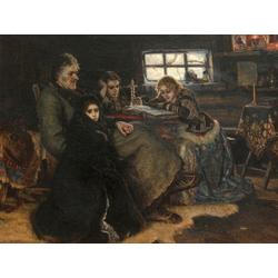 Surikov Vasily - The Menshikov Family in Beriozovo, 1883 | Суриков Василий