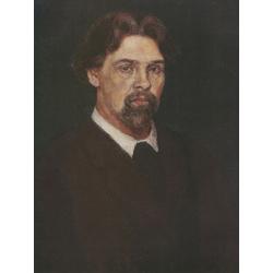 Surikov Vasily - Self Portrait, 1913 | Суриков Василий