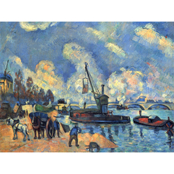 Cezanne Paul   Сезанн Поль - Сена в Берси