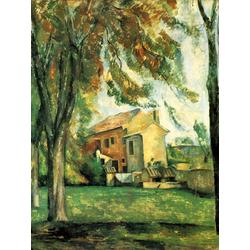 Cezanne Paul   Сезанн Поль - Пруд в Жа де Буффан зимой