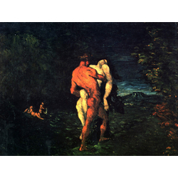 Cezanne Paul   Сезанн Поль - Похищение