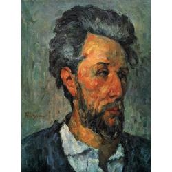 Cezanne Paul   Сезанн Поль - Портрет Виктора Шоке