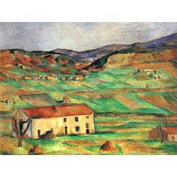 Cezanne Paul   Сезанн Поль - Окрестности Гарданны