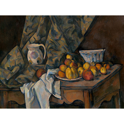Cezanne Paul   Сезанн Поль - Натюрморт с яблоками и персиками