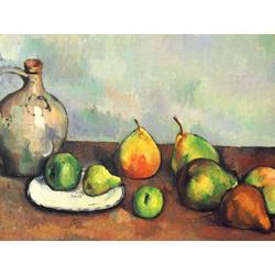 Cezanne Paul   Сезанн Поль - Натюрморт с кувшином и фруктами