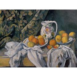 Cezanne Paul   Сезанн Поль - Натюрморт с драпировкой