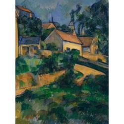 Cezanne Paul   Сезанн Поль - Крутой поворот на дороге в Монжеру