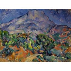 Cezanne Paul   Сезанн Поль - Дорога у горы св. Виктории