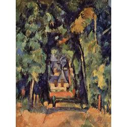 Cezanne Paul   Сезанн Поль - Дорога в Шантильи