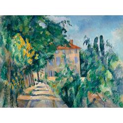 Cezanne Paul   Сезанн Поль - Дом с красной крышей