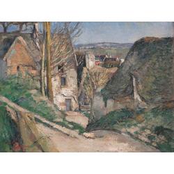 Cezanne Paul   Сезанн Поль - Дом повешенного (под Овером)