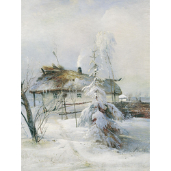 Alexei Savrasov   Саврасов Алексей - Зима, 1873