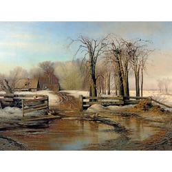 Alexei Savrasov   Саврасов Алексей - Весенний день, 1873