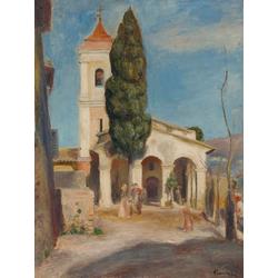 Pierr - Auguste Renoir   Ренуар Пьер - Церковь в Кане