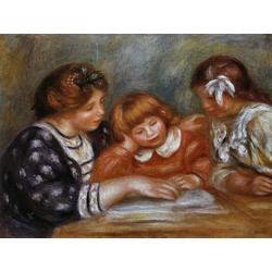 Pierr - Auguste Renoir   Ренуар Пьер - Урок