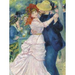 Pierr - Auguste Renoir   Ренуар Пьер - Танцы в Буживале