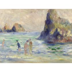 Pierr - Auguste Renoir   Ренуар Пьер - Скалы в Гернсее