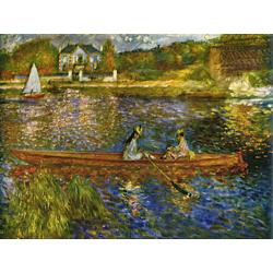 Pierr - Auguste Renoir   Ренуар Пьер - Сена близ Анера. Лодка