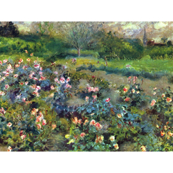 Pierr - Auguste Renoir   Ренуар Пьер - Розарий