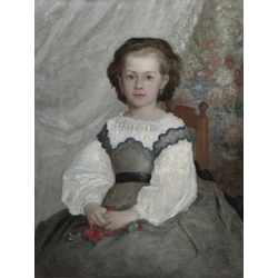 Pierr - Auguste Renoir   Ренуар Пьер - Портрет мадемуазель Ромен Ланко