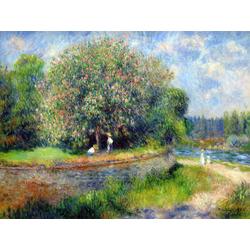 Pierr - Auguste Renoir   Ренуар Пьер - Каштан в цвету