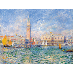 Pierr - Auguste Renoir   Ренуар Пьер - Венеция. Дворец Дожей, 1881