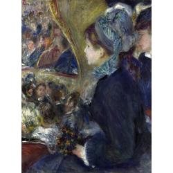 Pierr - Auguste Renoir   Ренуар Пьер - В театре