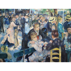 Pierr - Auguste Renoir - Le Moulin de la Galette   Ренуар Пьер