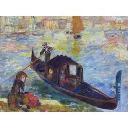 Pierr - Auguste Renoir - Gondola, Venice, 1881   Ренуар Пьер