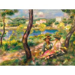 Pierr - Auguste Renoir - Beaulieu   Ренуар Пьер