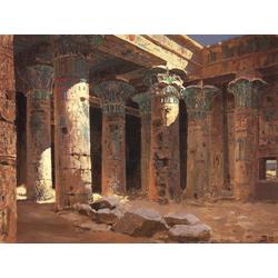 Polenov Vasily | Поленов Василий - Храм Изиды на острове Филе, 1882