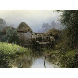 Polenov Vasily | Поленов Василий - Старая мельница