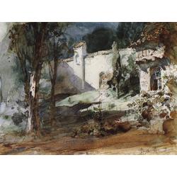 Polenov Vasily | Поленов Василий - Сад Маргариты, 1882