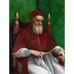 Polenov Vasily | Поленов Василий - Портрет Папы Юлиуса II