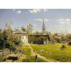 Polenov Vasily | Поленов Василий - Московский дворик