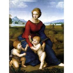 Polenov Vasily | Поленов Василий - Мадонна в зелени. Мария с младенцем и Иоанном Крестителем