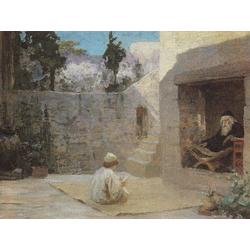 Polenov Vasily | Поленов Василий - Исполнялся премудрости, 1890 - 1909
