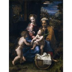 Polenov Vasily - The Holy Family, 1518 | Поленов Василий