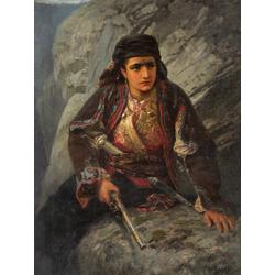 Polenov Vasily - The Herzegovinian on Lookout, 1876 | Поленов Василий